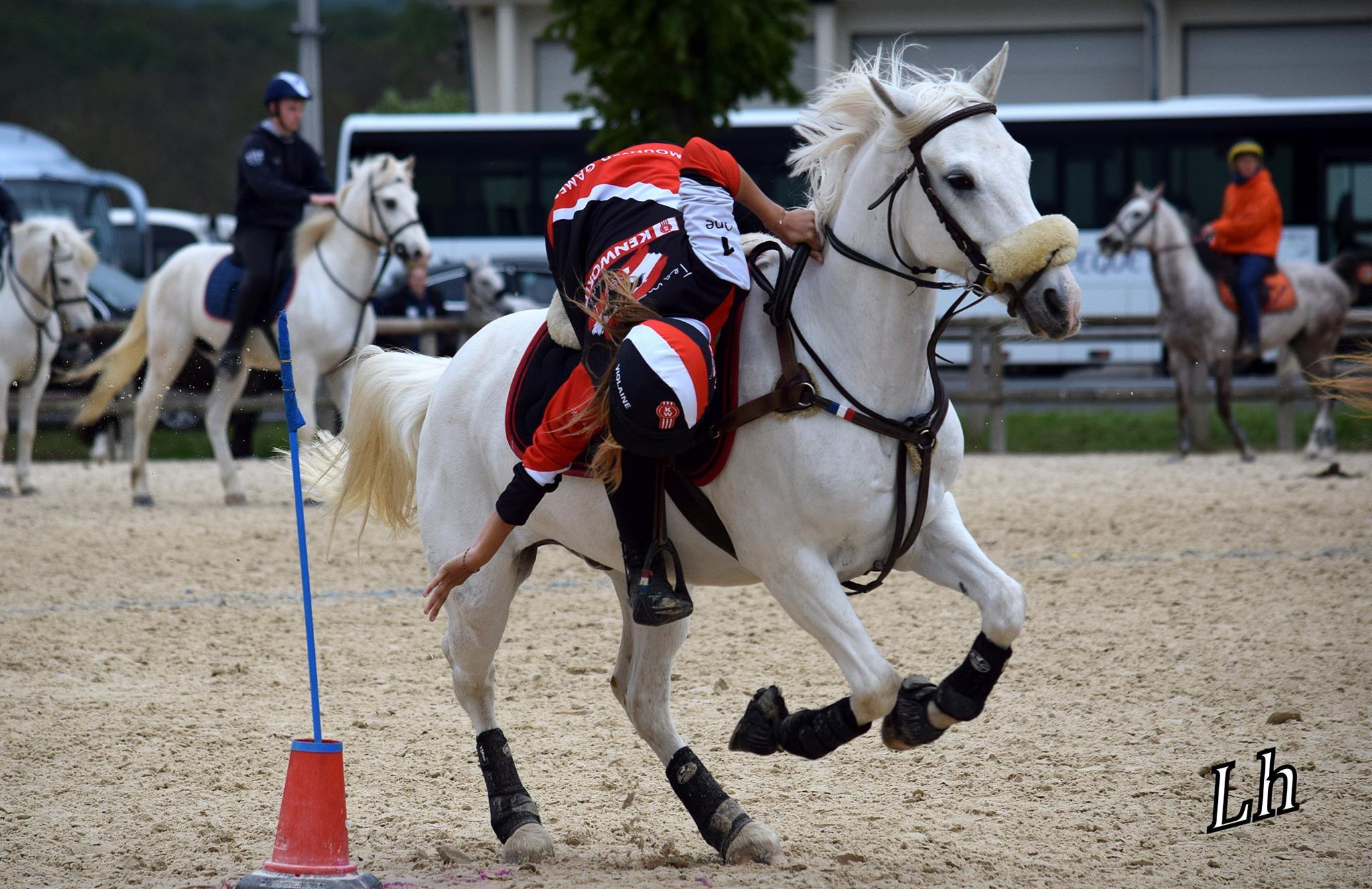 photo équitation mounted games poney