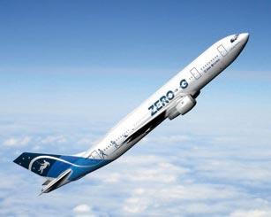 """L'avion """"Zero-G"""" qui permet de faire des expériences en microgravité"""