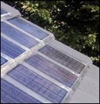 L'active tuile photovoltaique Luxol en situation