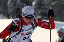 Clément Jacquelin, en première année à la prépa, a été sacré vice-champion de France Junior de biathlon.