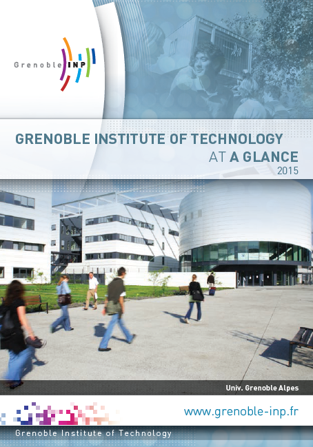 "Télécharger la plaquette ""Grenoble Institute of Technology at a glance"" en pdf (3,3 Mo)"