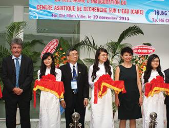 Inauguration CARE, centre de recherche sur l'eau