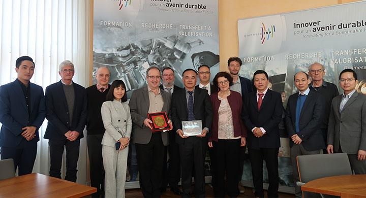 delegation vietnam grenoble INP