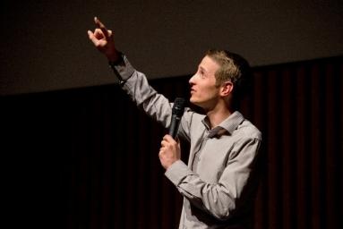 Philippe Le Bouteiller, gagnant du concours Ma thèse en 180 secondes