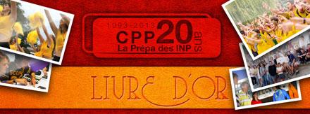 Couverture Facebook - Livre d'or les 20 ans du CPP