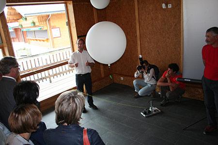 Debal + : prototype de ballon captif pour le débardage