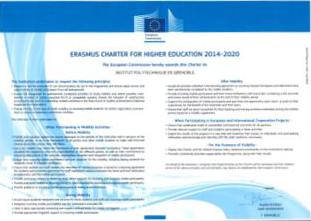 Grenoble INP Erasmus+ charter
