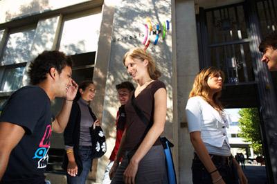 Etudiants de Grenoble INP (photographe : Alexis Chézière)
