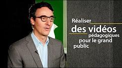 Florent Cadoux: réaliser des vidéos pédagogiques pour le grand public