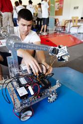 Concours de robotique « First Tech Challenge » :  une première à Grenoble INP !