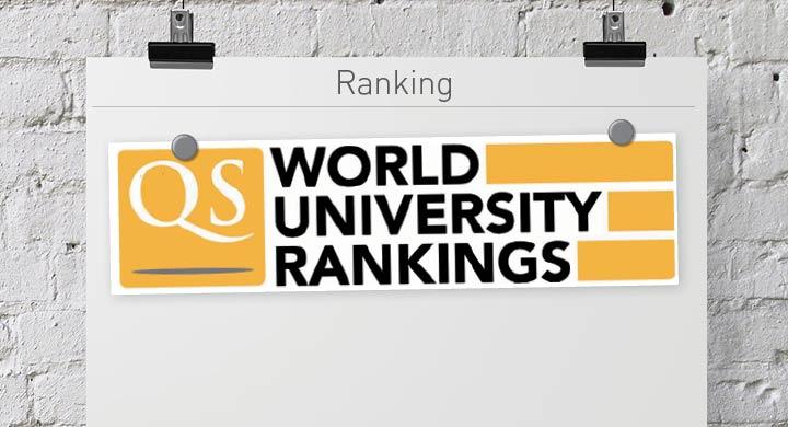 Classement dans le QS World Ranking