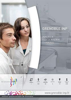 Couverture plaquette Grenoble INP 2013