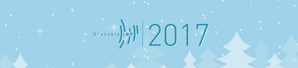 Grenoble INP - Carte voeux 2017