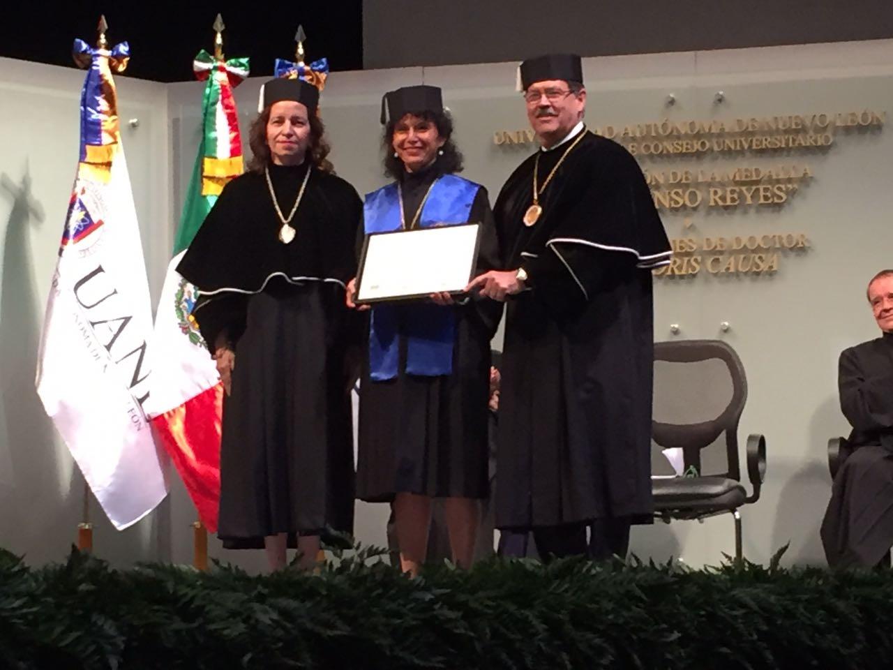 Brigitte Plateau - Docteur honoris causa