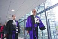 Le Recteur et Paul Jacquet