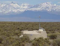 Détecteur de surface de particules de l'Observatoire Auger