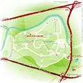 Plan d'accès à Maison de Grenoble INP