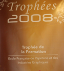 Trophée Intergraphics 2008