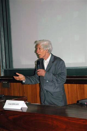 Louis Bolliet - Colloque du 16 mai 2008
