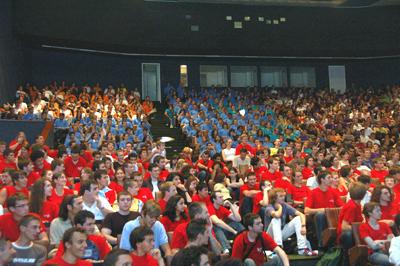 Cérémonie d'accueil des nouveaux élèves - ingénieurs 2008