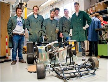 Réalisation d'un Kart vert par les éleves de Grenoble INP - Géni