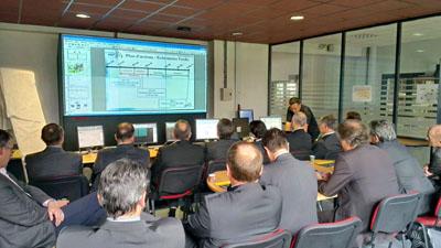 Visite de PREDIS par le CODIS Rhône Alpes Bourgogne le 8 novembre 2012