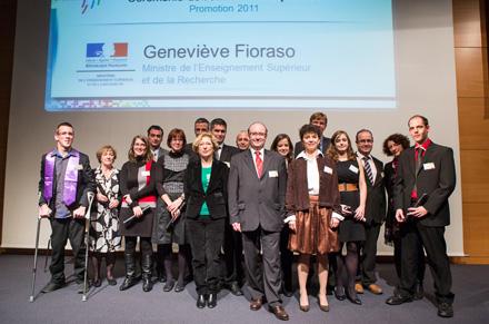 Cérémonie de remise des diplômes le 24 novembre 2012