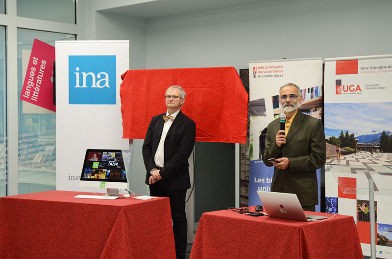 inauguration INA BU grenoble alpes