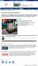 Grenoble IN'Press - Donner vie aux idées d'entreprise - février 2015 - numéro 19