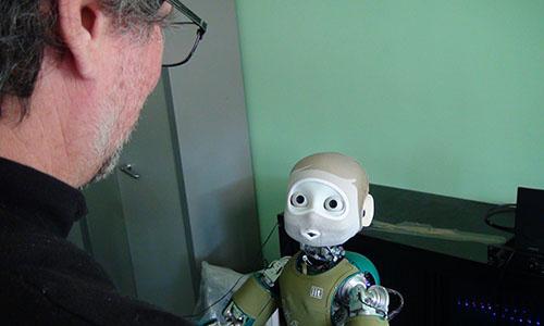 Nina, le robot du projet Sombrero