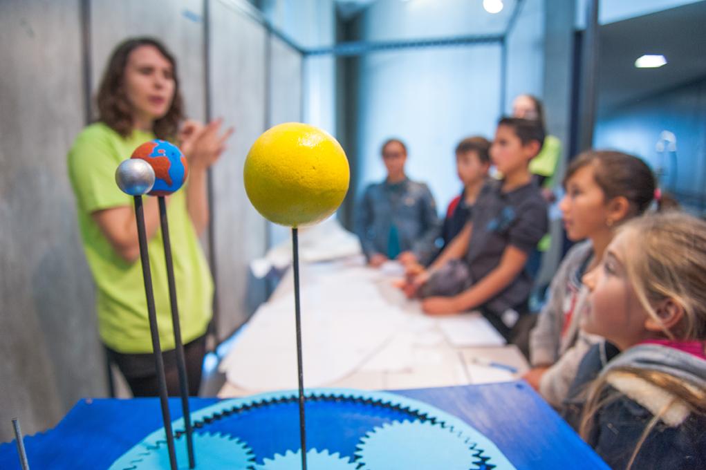 Parvis des Sciences 2015 - Stand Univers