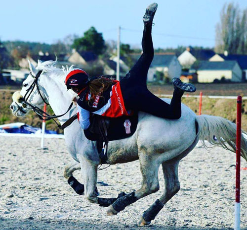 photo équitation poney games mounted games