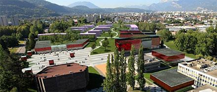 PILSI - implantation sur le campus universitaire