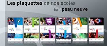 Plaquettes de Grenoble INP et des écoles