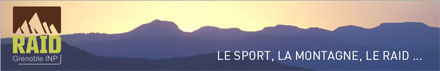 Bannière du Raid Grenoble INP