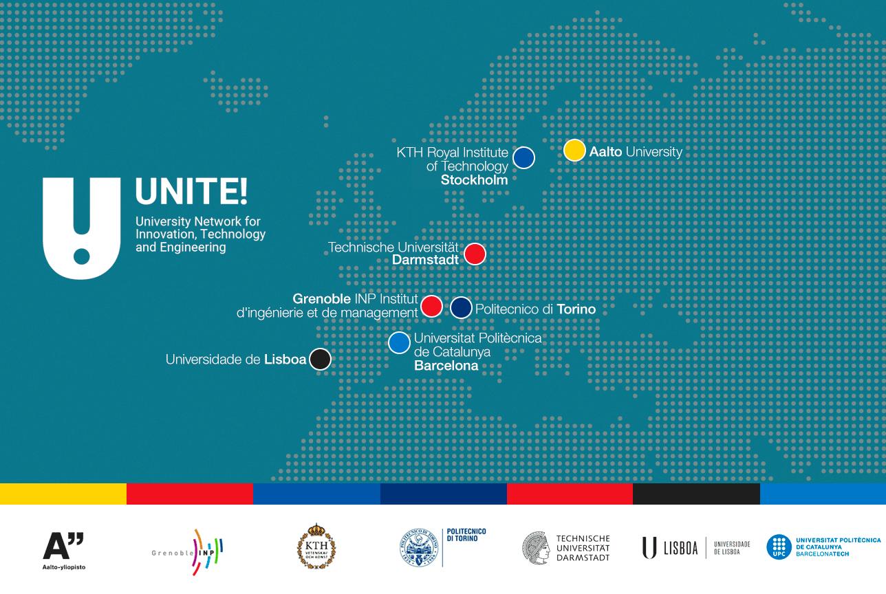 UNITE! Map