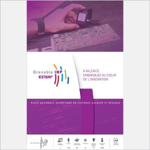 Esisar - Présentation de l'école - 2016 - Plaquette (vignette de la couverture)