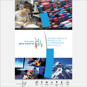 Génie industriel - Présentation de l'école - 2016 - Plaquette (vignette de la couverture)