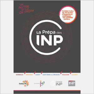 La prépa des INP - Présentation de l'école - 2016 - Plaquette (vignette de la couverture)