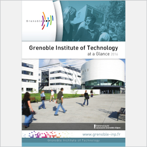 Grenoble INP - At a glance - 2016 - Plaquette (vignette de la couverture)