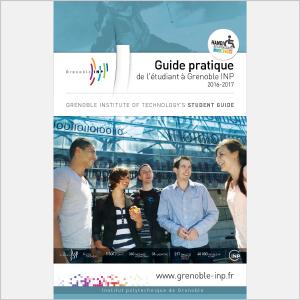Grenoble INP - Guide d'accueil des étudiants - 2016 - Plaquette (vignette de la couverture)