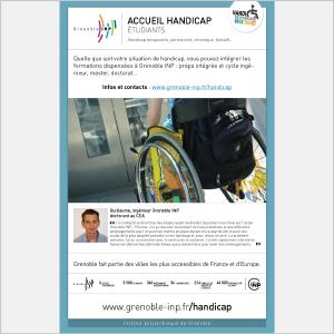 Grenoble INP - Handicap - 2017 - Plaquette - Accueil étudiants (vignette de la couverture)