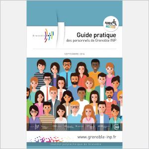 Grenoble INP - Guide d'accueil du personnel - 2016 - Plaquette (vignette de la couverture)