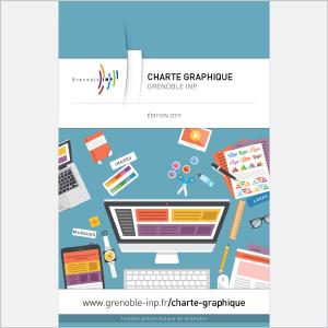 Grenoble INP - Charte graphique - 2015 - Plaquette (vignette de la couverture)